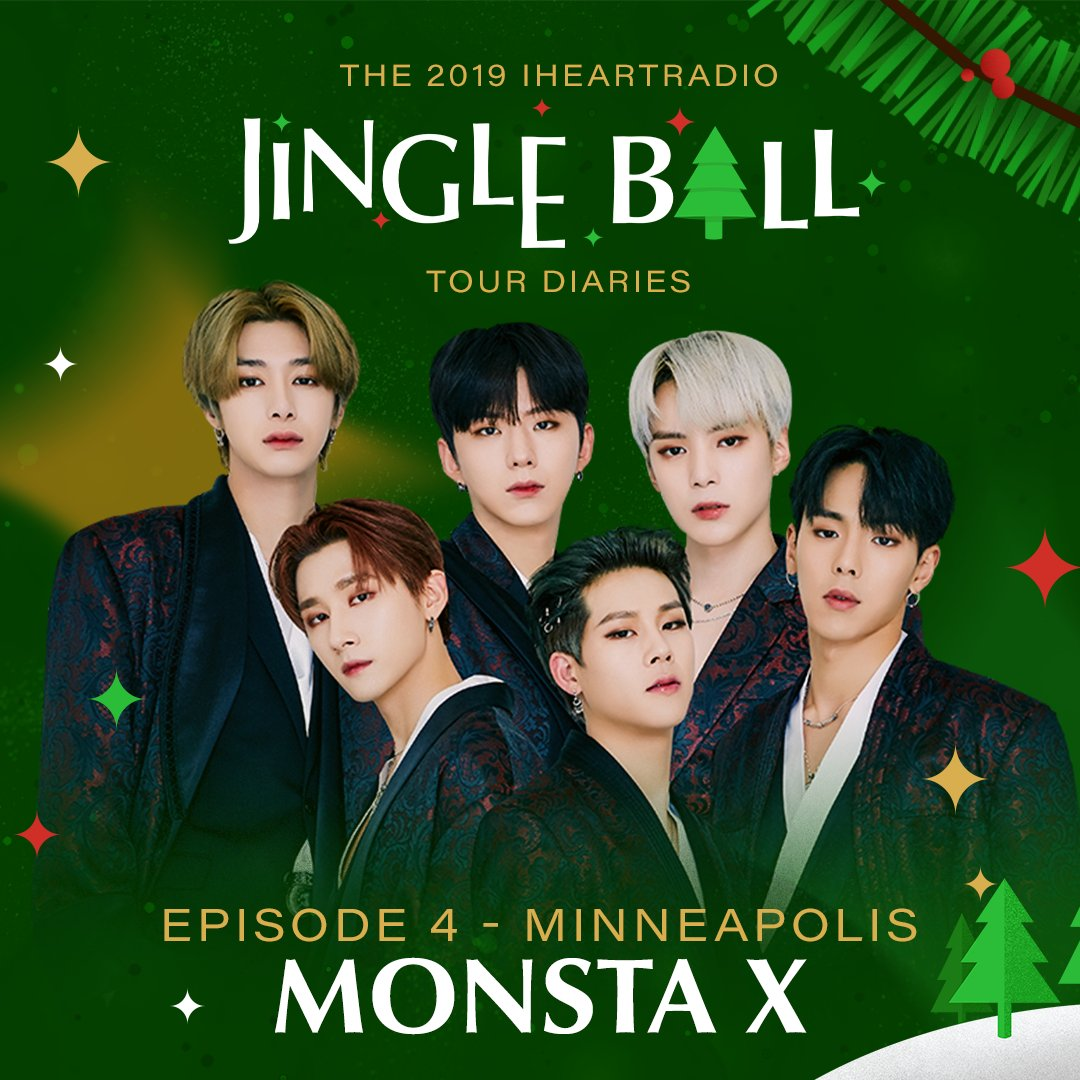 My kings @OfficialMonstaX will be taking over the @iHeartRadio Instagram Stories all day today live from #KDWBJingleBall in Minneapolis! 💫