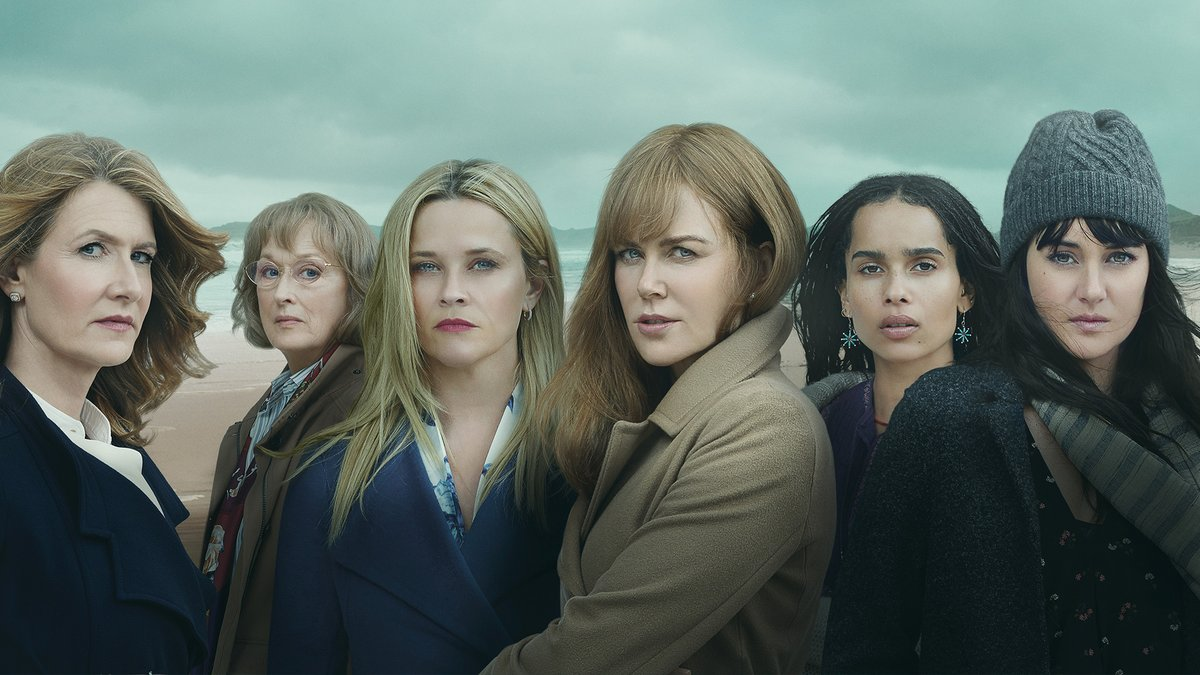Congratulations to Nicole Kidman, Meryl Streep, and the entire cast and crew of #BigLittleLies on 3 Golden Globe nominations, including Best Drama Series.