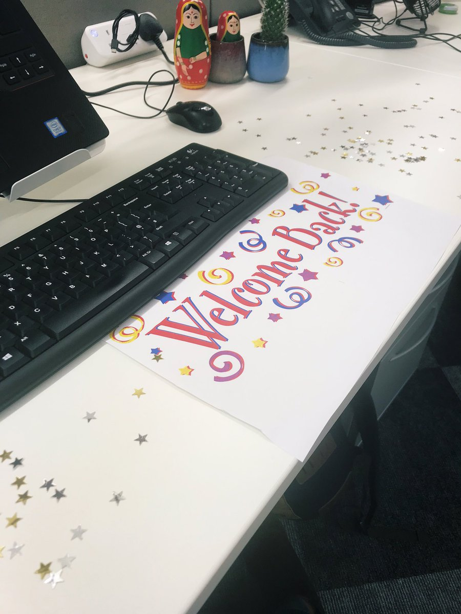 Have the sweetest colleagues @decappeal 🎉