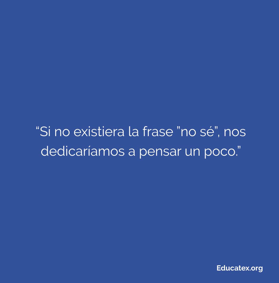 Frase del día . Para más conocimiento util @educate.x⠀ . #educatex #curiosidades #curiosidadesnerds #curiosidadesgeeks #curiosidadesemae #curiosidadesdenuestroplaneta #curiosidadestictocpic.twitter.com/mk0r7xJtIj
