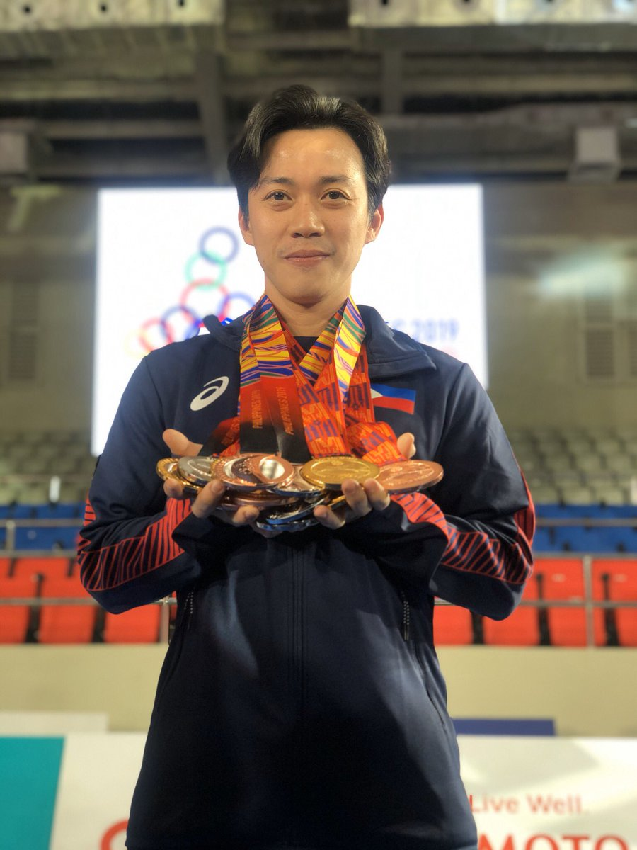 4 GOLD, 5 SILVER, and 4 BRONZE medal  for the Philippine Taekwondo Kyurogi Team  Thank you Lord  #wewinasone #seagames2019<br>http://pic.twitter.com/TVbrsm5DzD