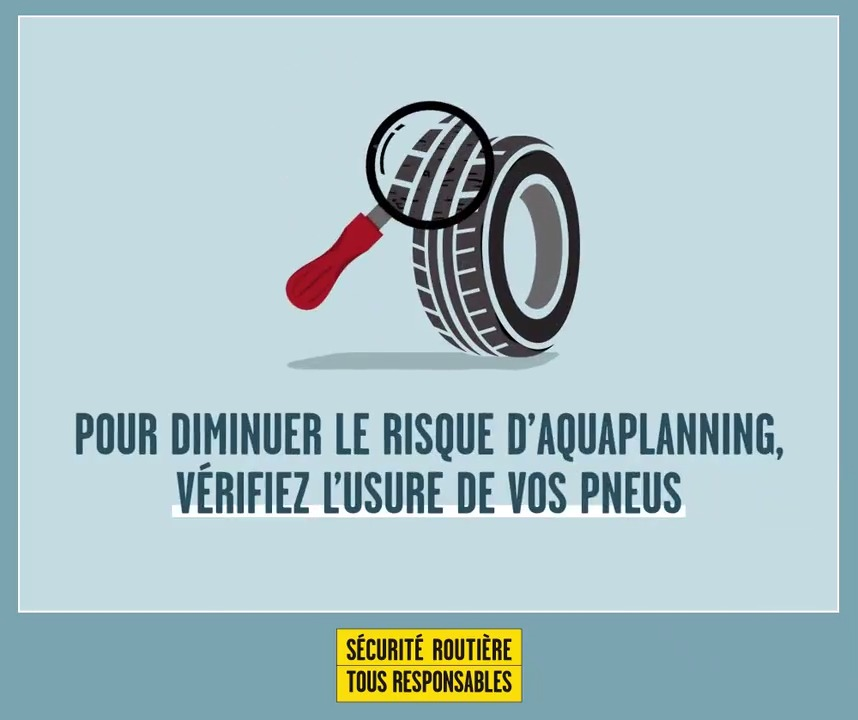 Image for the Tweet beginning: Des pneus usés ou sous-gonflés