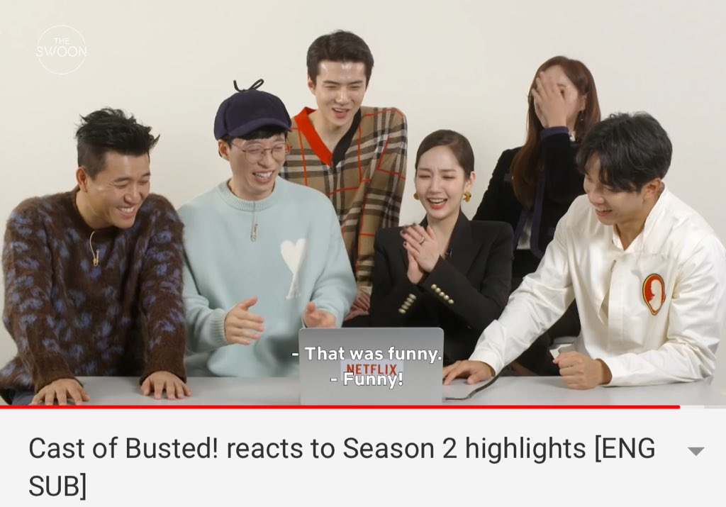 MCast of Busted! reacts to Season 2 highlights [ENG SUB]  https:// youtu.be/5dKYSjhJVzw                                                 Everyone choose sejeong highlights is the most funny                 #sejeong #busted2 <br>http://pic.twitter.com/GFHZgzBTDW
