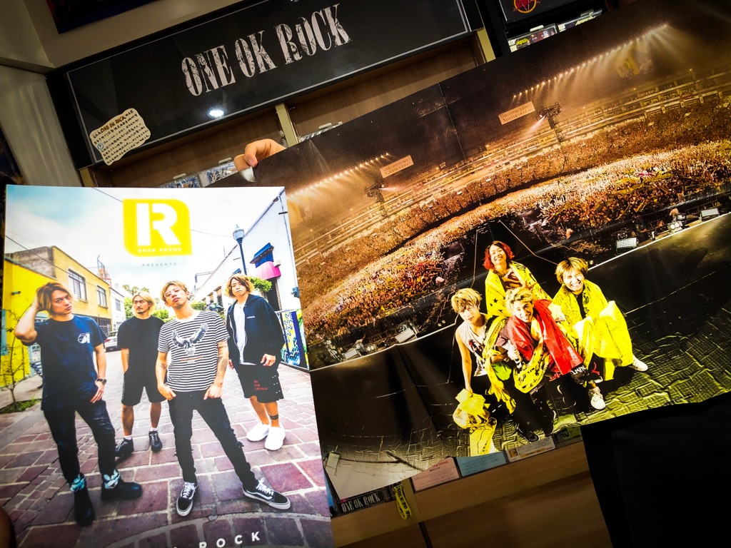 【#ONEOKROCK】 At Tower Records Shibuya 6F, Special magazine Rock Sound Presents ONE OK ROCK The Essential History has arrived!! We sell in LIMITED QUANTITY!! so buy the ones you like as soon as possible!! (サダトン)