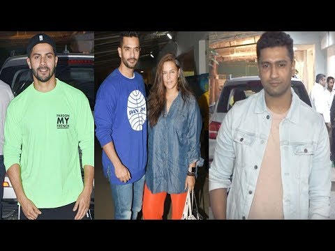 MUST WATCH VARUN DHAVAN,VICKY KAUSHAL OTHERS ATTEND SCREENING OF SHADAA || Bollywood Celebrity News #VARUNDHAVAN #VICKYKAUSHAL  #SCREENINGSHADAA  #BollywoodCelebrityNews