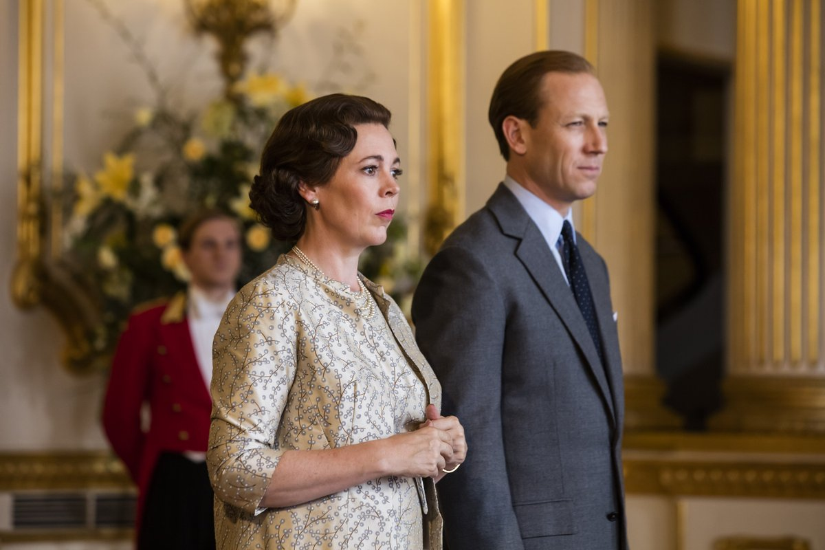 Olivia Colman, Helena Bonham Carter, and Tobias Menzies have all been nominated by the #GoldenGlobes for their work on #TheCrown, which was also nominated for Best Drama Series