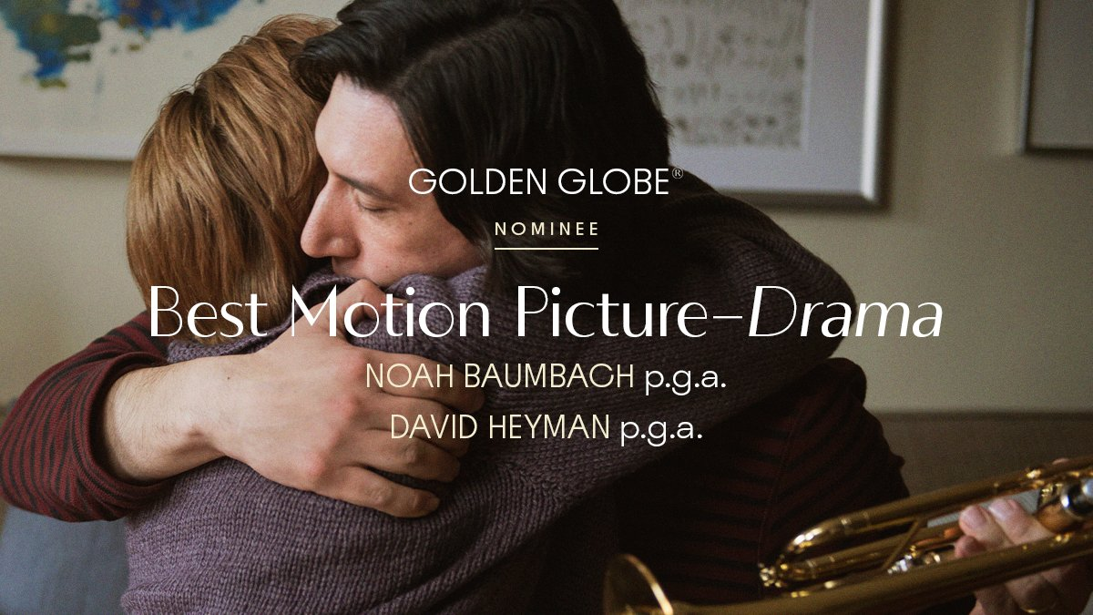 Replying to @MarriageStory: @goldenglobes @LauraDern Official Nominee: Best Picture–Drama, #GoldenGlobes