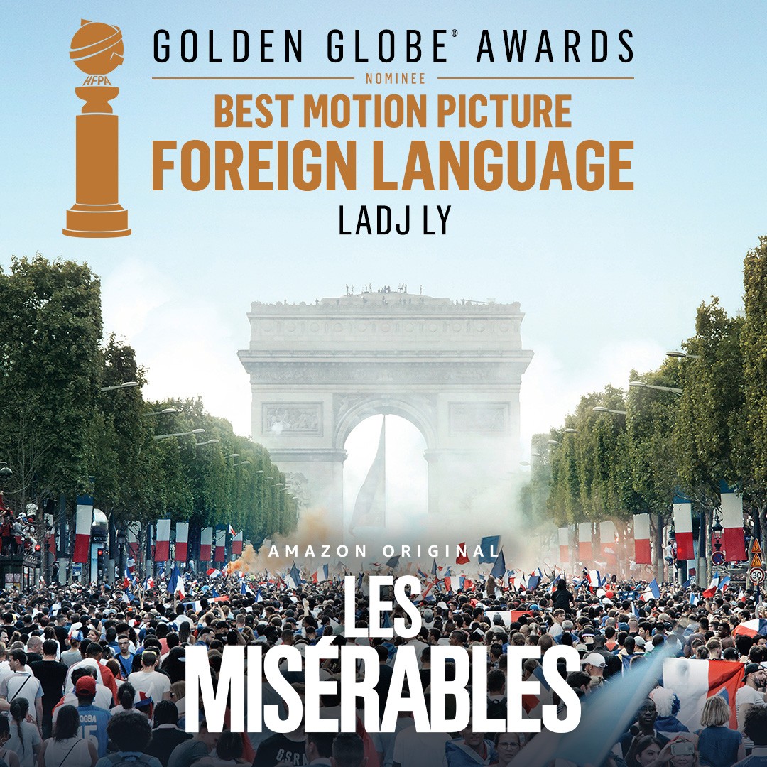 Congrats to the cast and crew of Les Misérables on its #GoldenGlobes nomination for Best Motion Picture - Foreign Language.