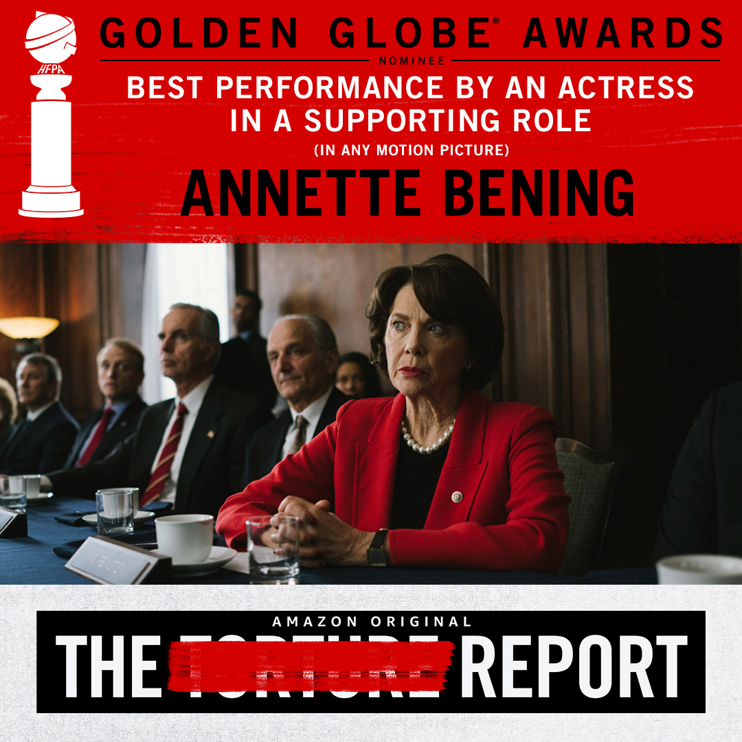 Congratulations to Annette Bening, #GoldenGlobes nominee for Best Performance By An Actress In A Supporting Role.