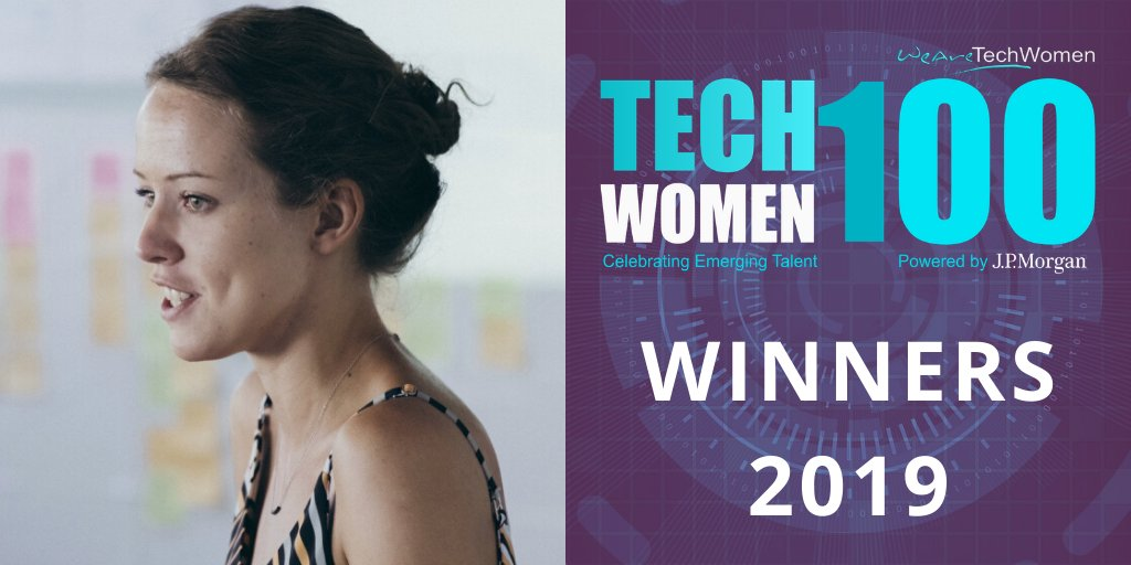 Congratulations to @elletweedy of @FutureGov for being named #TechWomen100 award winner! Part of @the_panoply #Womenintech