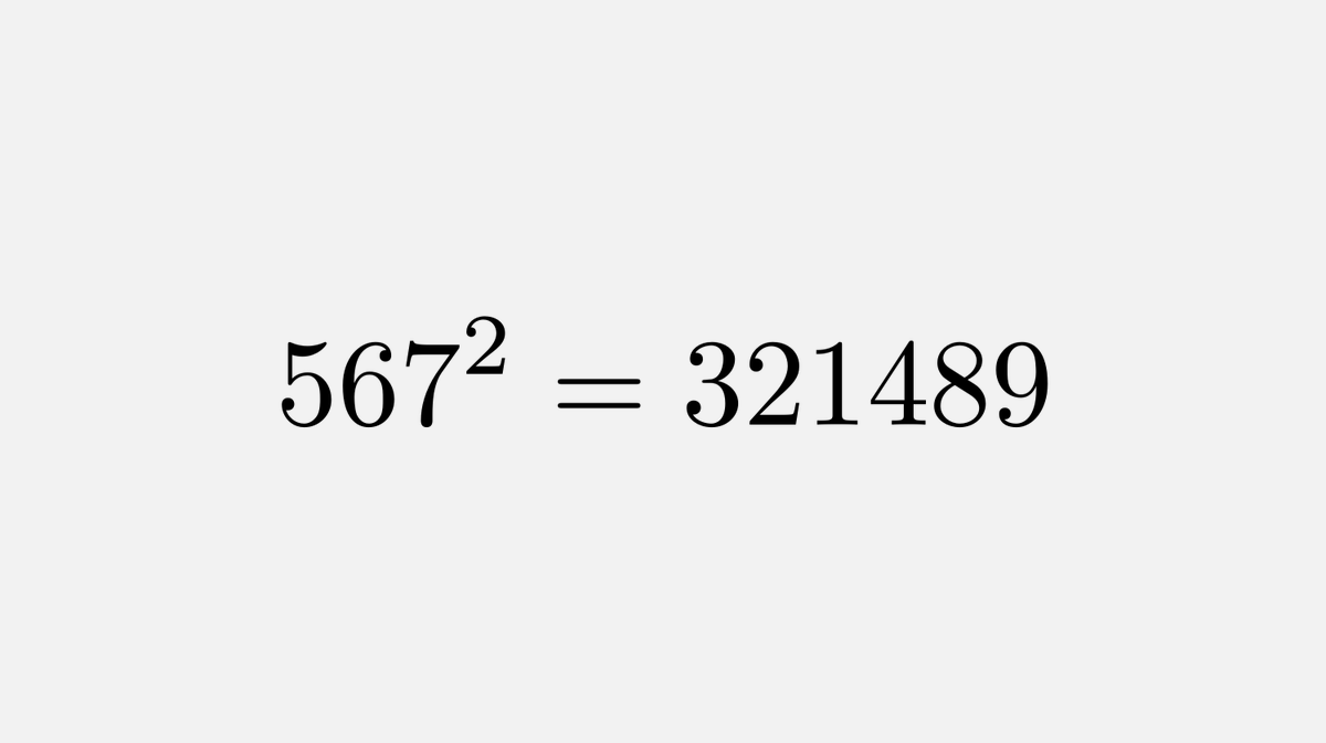 This equation uses each of the digits 1 to 9 only once.