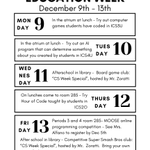 Image for the Tweet beginning: Check out the @CSEdWeek events
