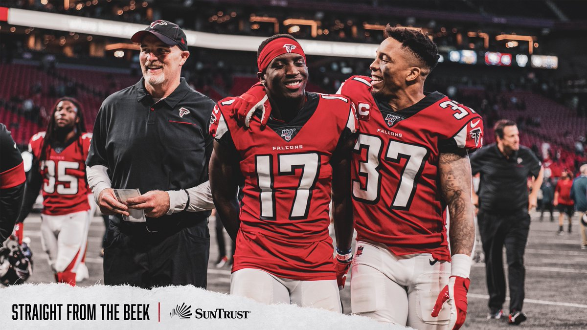 Time to get your morning @AtlantaFalcons fix. Questions are in following the win over the Panthers. Topics: •How winning affects draft order •Roddys day, Koos performance •Dan Quinn, beating 49ers, more SFTB link - atlfal.co.nz/36hI4aD