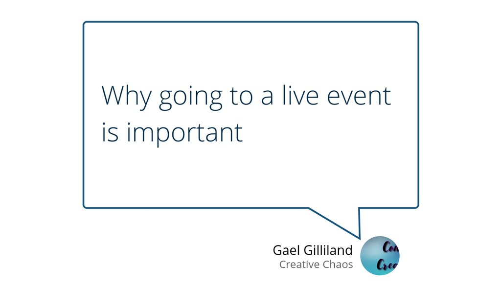 """""""Why going to a live event is important"""" https://t.co/blQunxdMWw #LimaOhio #SMWL19 #networking #craveable #marketing https://t.co/H00ROTRUHy"""