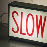 Image for the Tweet beginning: Slow Down. The effects of