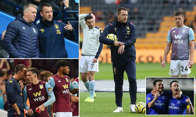 Giving rousing team talks, helping Tyrone Mings become an England defender an... #AVFC  https://t.co/vll3Vw2CDh https://t.co/JVBRMHMTzg