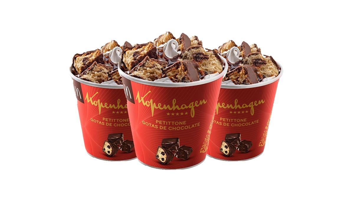 McDonald's lança McFlurry de Chocotone Kopenhagen  para o Natal. #McDonalds #mcflurry #Chocotone #Kopenhagen #natal2019 #fastfood