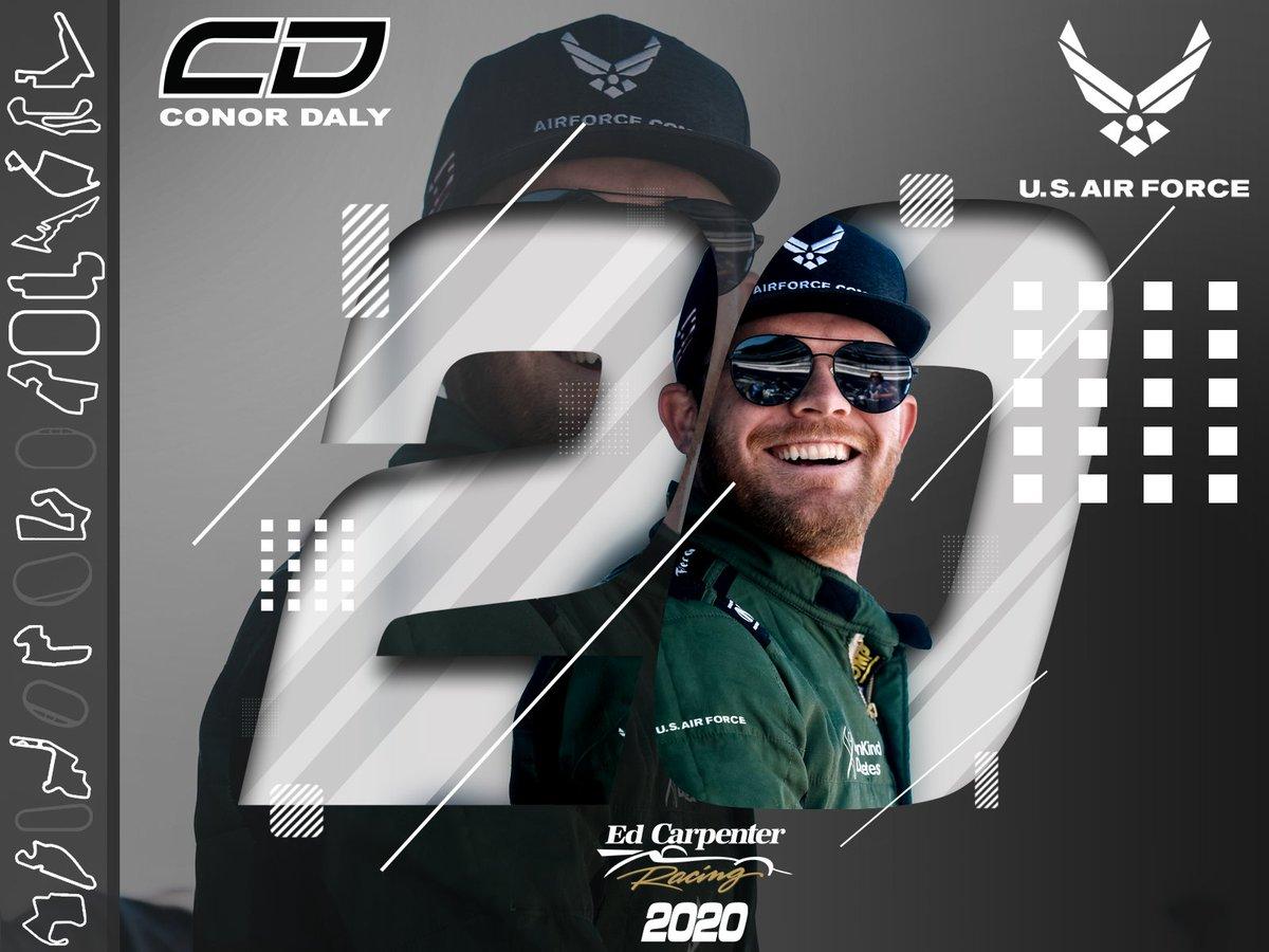 HIVATALOS: Conor Daly az Ed Carpenter Racingnél folytatja