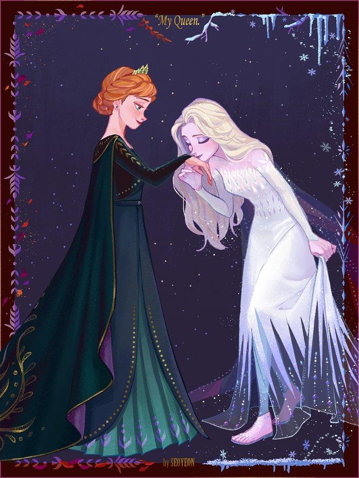 #Frozen  all hail the Queen Anna^^7 <br>http://pic.twitter.com/j4YfSK5jh0