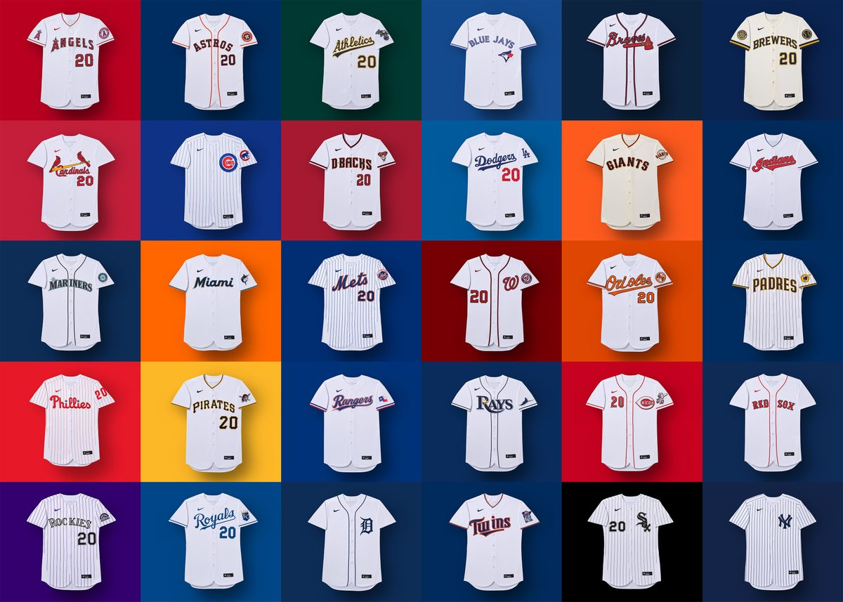 Baseball fans are furious about the Nike logo on the new MLB jerseys