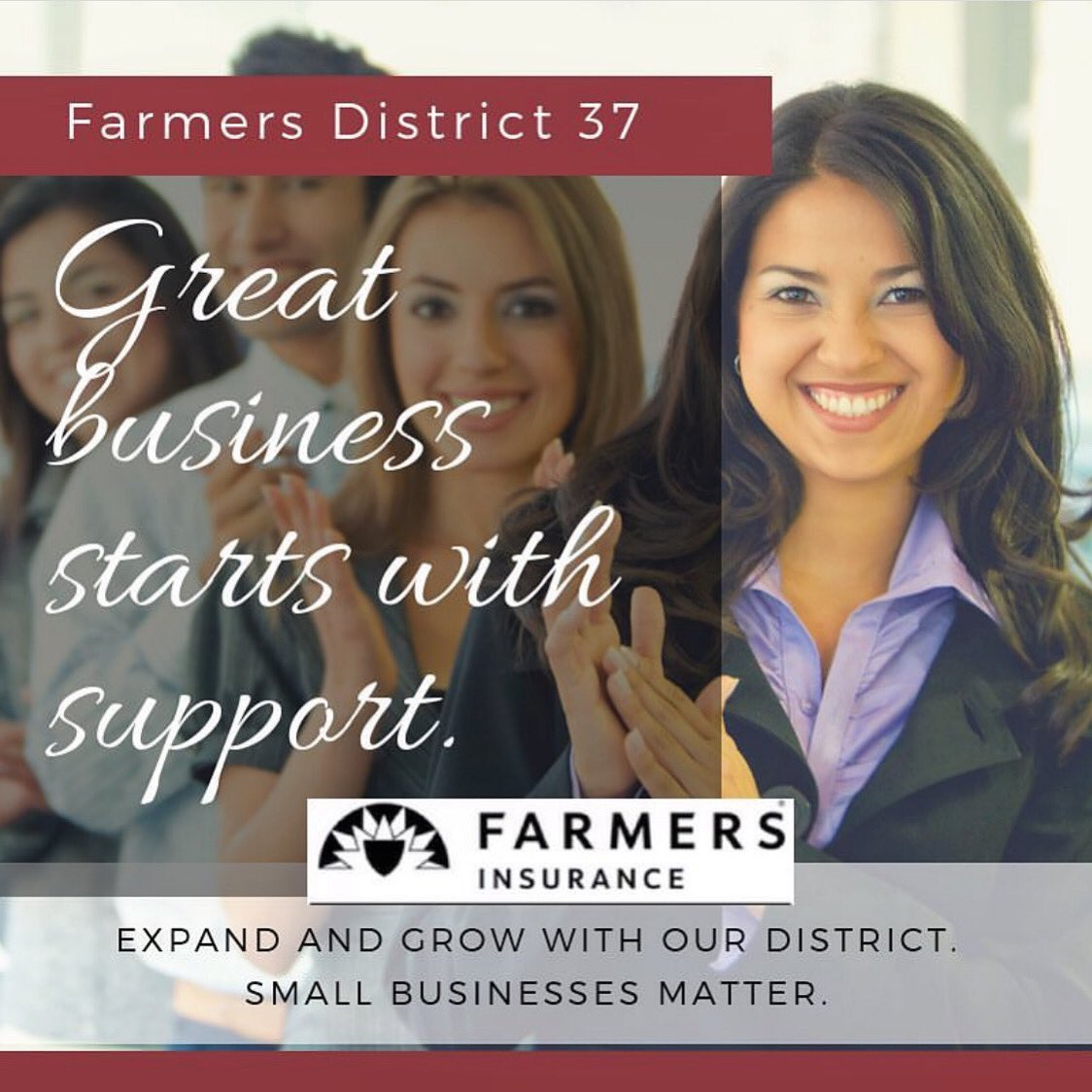Join our District and you will have access to knowledgeable professionals to help support your business and the backing of a strong and respected brand! • • #farmersinsurance  #network #connect #atxlife #atx #austin #texas #autogramtags #mondaymotivation #opportunity