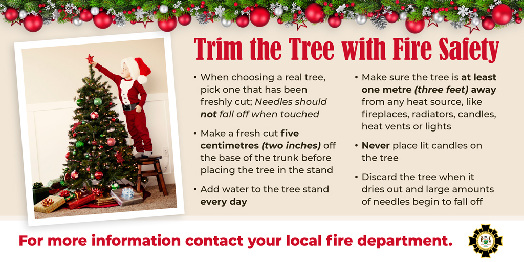 RT @HaldEmerg: Let's all be Fire Smart this Holiday Season. https://t.co/n1E6Gf3mrl