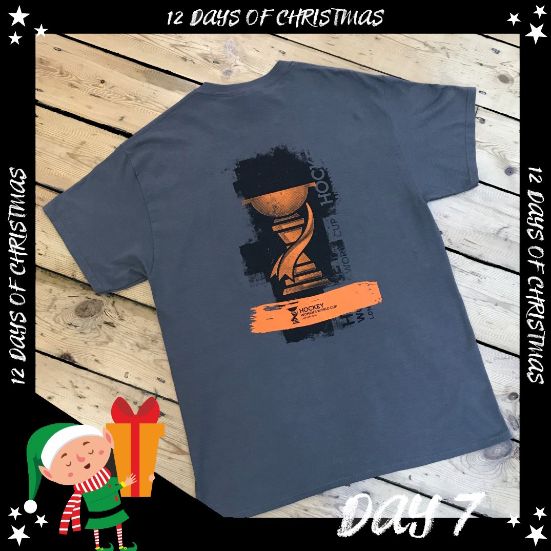 🎄Today we're giving one of our lucky followers the chance to #WIN... a Hockey World Cup T-shirt! 🏑For your chance to #WIN:1. LIKE and RETWEET this post 2. FOLLOW us3. TAG a friend or two who love hockey!T&Cs apply. GOOD LUCK! 🤞
