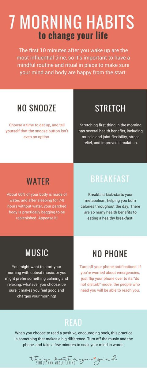 Do you follow any of these morning habits? #motivationalmonday<br>http://pic.twitter.com/1ipetKYkmQ