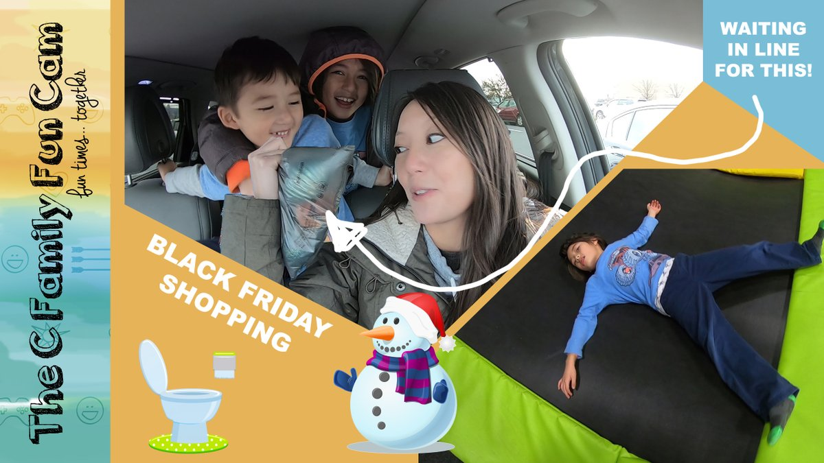 We waited in line for this!!!!! And got some great deals @Kohls and @Walmart  check out our latest video on @YouTube ! #familyvlog #blackfridayshoppingvlog #thecfamilyfuncam #trampolineparkfun #walmartblackfriday #kohlsblackfriday