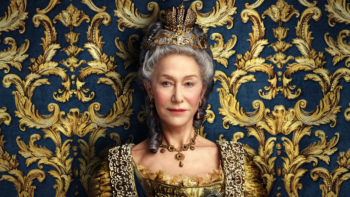 Bow down to Helen Mirren, who's been nominated for a Golden Globe for her performance in the limited series #CatherineTheGreat.