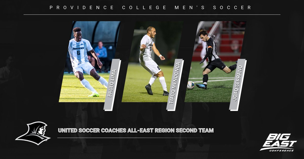Congrats to Paulo, Tiago and Joao on being named to the United Soccer Coaches All-East Region Second Team! #GoFriars #PCMS
