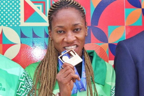 African Champion Chinazum Nwosuis now ranked 16th on the World Taekwondo ranking for December.  Nwosu clinched Nigeria's 1st Gold medal at the 2019 African Games in Rabat. <br>http://pic.twitter.com/9VGB6D1TTW