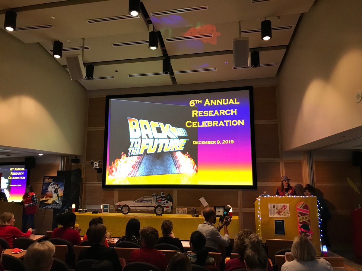 Going Back to the Future with the UOHI Research Celebration! @HeartInstitute