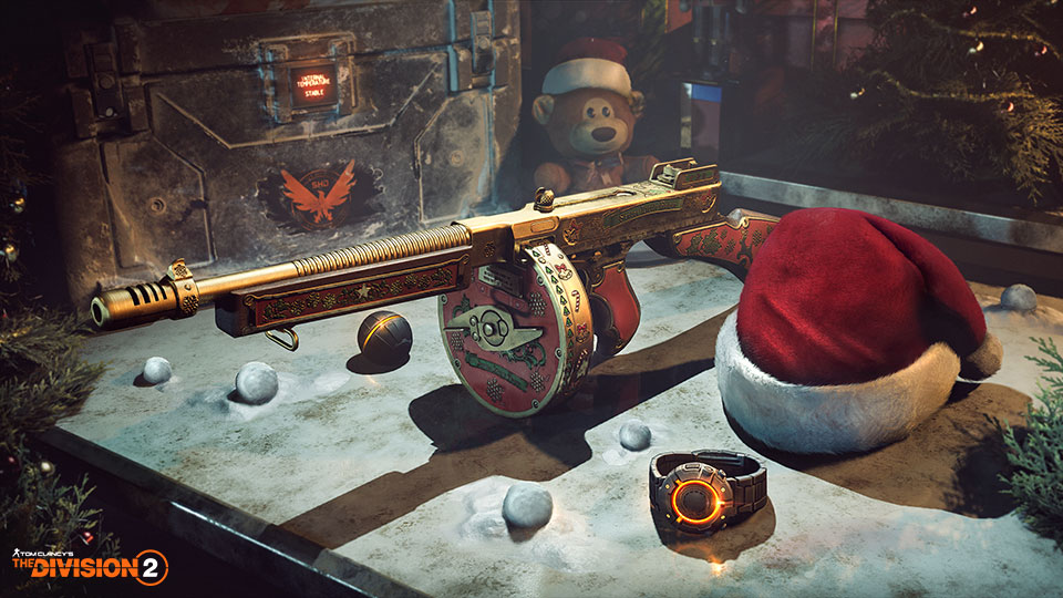 The Division 2 6.1 Update Patch Notes Detail Christmas Content, Hardcore Mode, And More - GameSpot