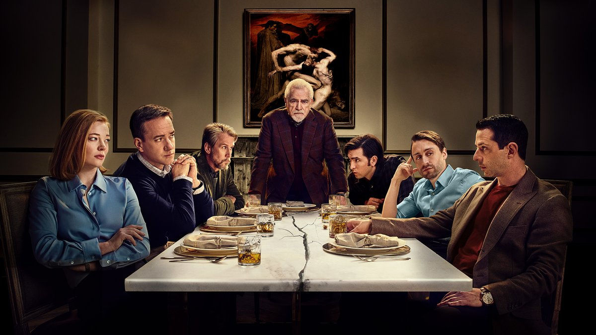 It's executive-level business. Congratulations to the cast and crew of #SuccessionHBO on their Best Drama Series Golden Globe nomination, as well as Brian Cox and Kieran Culkin for their performance nominations.