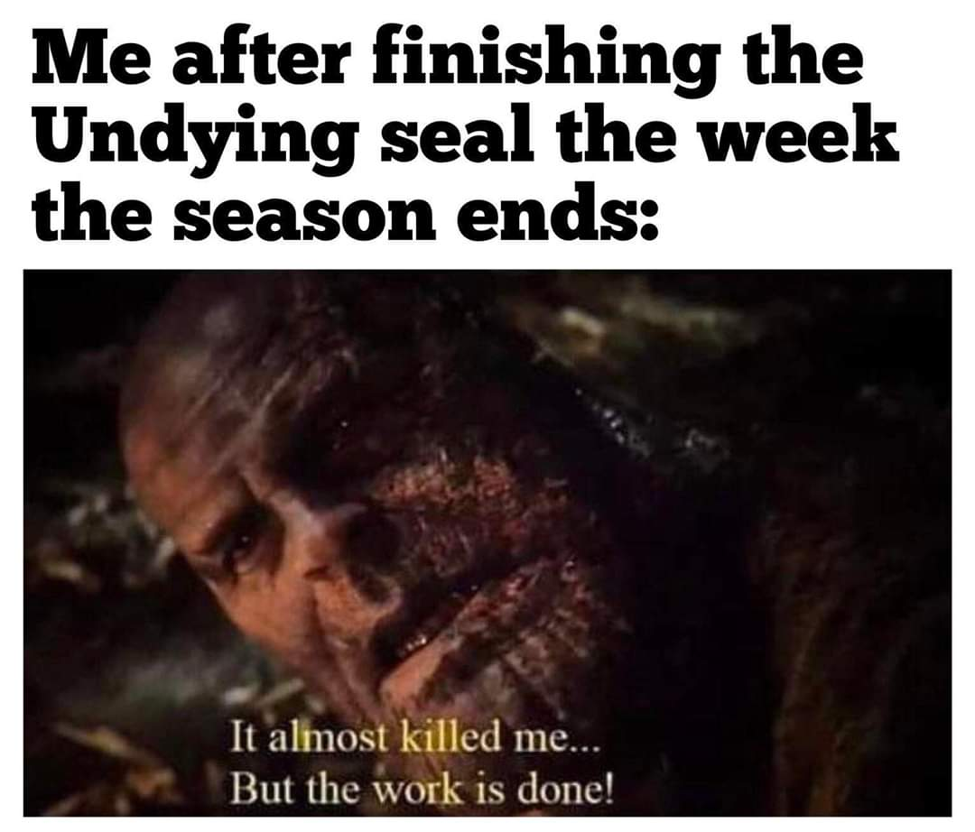 Anyone else feeling this way? #Destiny2 #destinythegame #shadowkeep #undyingseal #seasonofundying #twitch #twitchaffiliate #supportsmallstreamers #supportallstreamerspic.twitter.com/jXRuS0creh