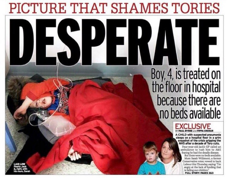 @BorisJohnson clearly didn't give a shit about this little boy👇👇👇 If you're still thinking of voting for him, do you think he will give a shit when it's you or your kids turn?? He won't. Please. Vote. Him. Out. #VoteLabourDecember12 🌹🌹🌹