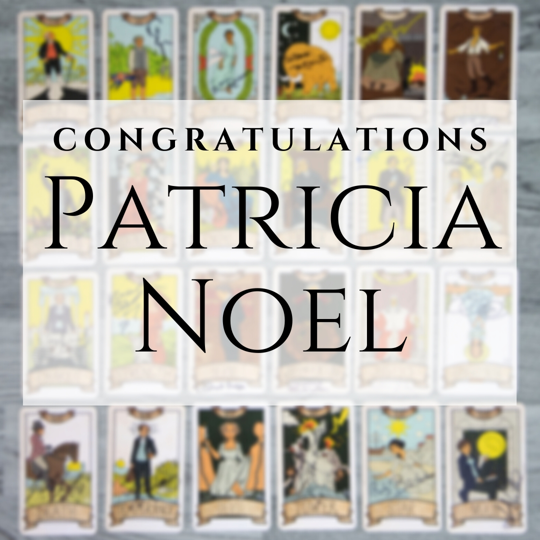 Congratulations to Patricia Noel, you have won the Newquay Coastguard Association's exclusive #Poldark tarot cards! Thank you to everyone that entered and helped raise £635 for the NCA!