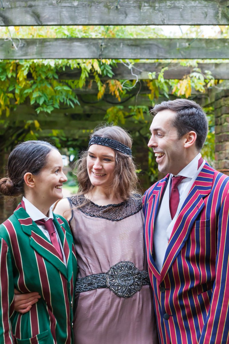A few weeks ago, we took some promo shots for our 1920s production of #TwelfthNight which will be taking place next Summer. @ChrisMPhotos took some wonderful shots of @Mark_reed88 @BethEyre & @tara_dowd in Walpole Park. Stay tuned for updates about the show in the new year! <br>http://pic.twitter.com/Oa4O8NClzF