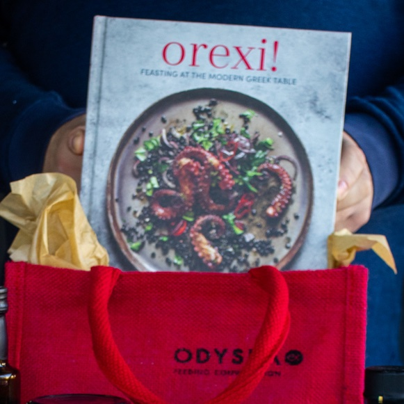 #Christmasgiveaway For the 4th day of our festive countdown we teamed up with @TheoCooks to offer a signed copy of his book #Orexi, a modern take on Greek-Cypriot cooking & a selection of his favourite #Odysea products to use in his recipes! To win follow both, RT & tag 2 friends<br>http://pic.twitter.com/kwsHunJgN1