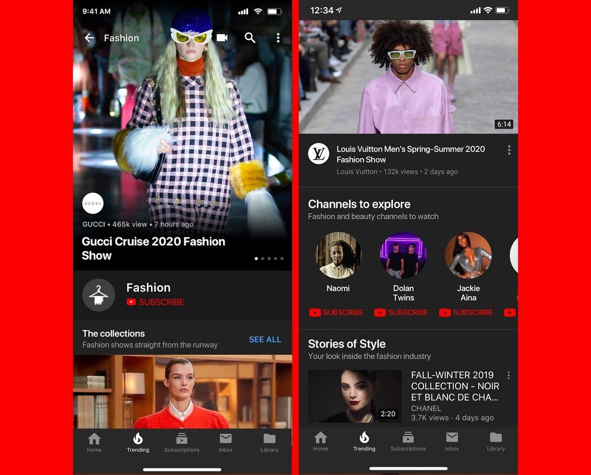Youtube entra en el mundo de la moda. Lo hace con #YoutubeFashion , un hub para atraer nuevos públicos, creadores de contenidos, artistas y atraer a las marcas [EN] 🕺