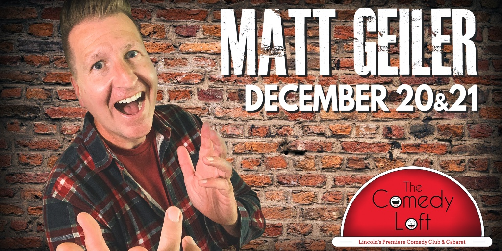 Lincoln friends and fam! Gonna be closing out the year at The Comedy Loft, so grab some tickets and come hang for some musical improv and freestyle comedy! https://t.co/4QleOfKnJz https://t.co/XrqH9jOjhr