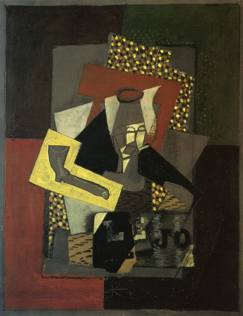 Glass, Pipe and Newspaper, 1917 #frenchart #syntheticcubism <br>http://pic.twitter.com/2QnpsjFAVz
