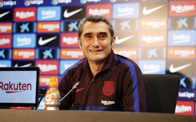 ELXXiyIXkAApMOj?format=jpg&name=small Valverde habló sobre Messi, Neto, Suárez, Griezmann, Vidal y las rotaciones - Comunio-Biwenger