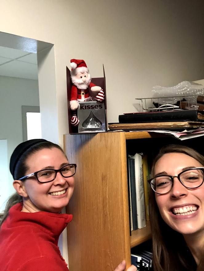 @aj_weisman and I are participating in @wiscmedphys's Holiday Scavenger Hunt. We're having lots of fun so far!