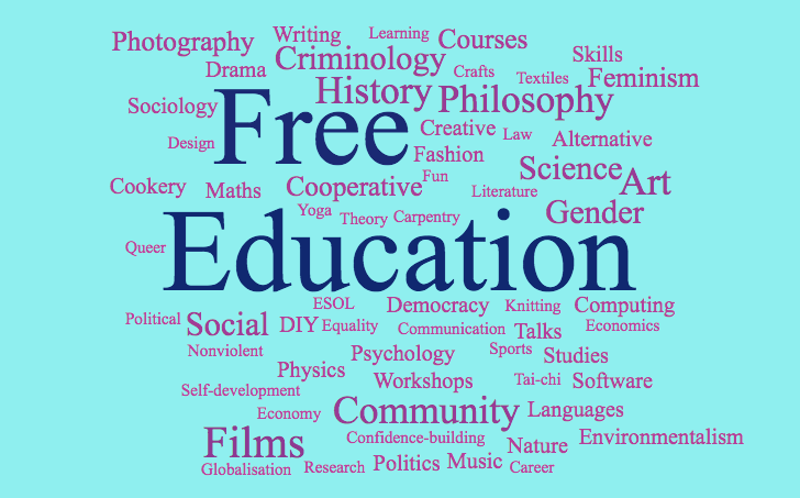 Love learning? We offer FREE education in #Brighton & #Hove including degree level courses. Find out what's on here: http://www.freeuniversitybrighton.org  or follow us on Facebook, Twitter, Instagram #brightonhour pic.twitter.com/OMMKIvzsNQ
