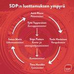 Image for the Tweet beginning: Demarien tuolileikeissä piiri pieni pyörii..  Sanna