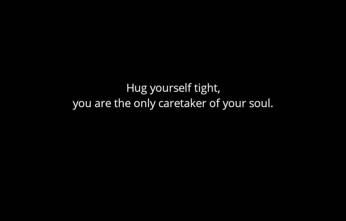 hug yourself tight