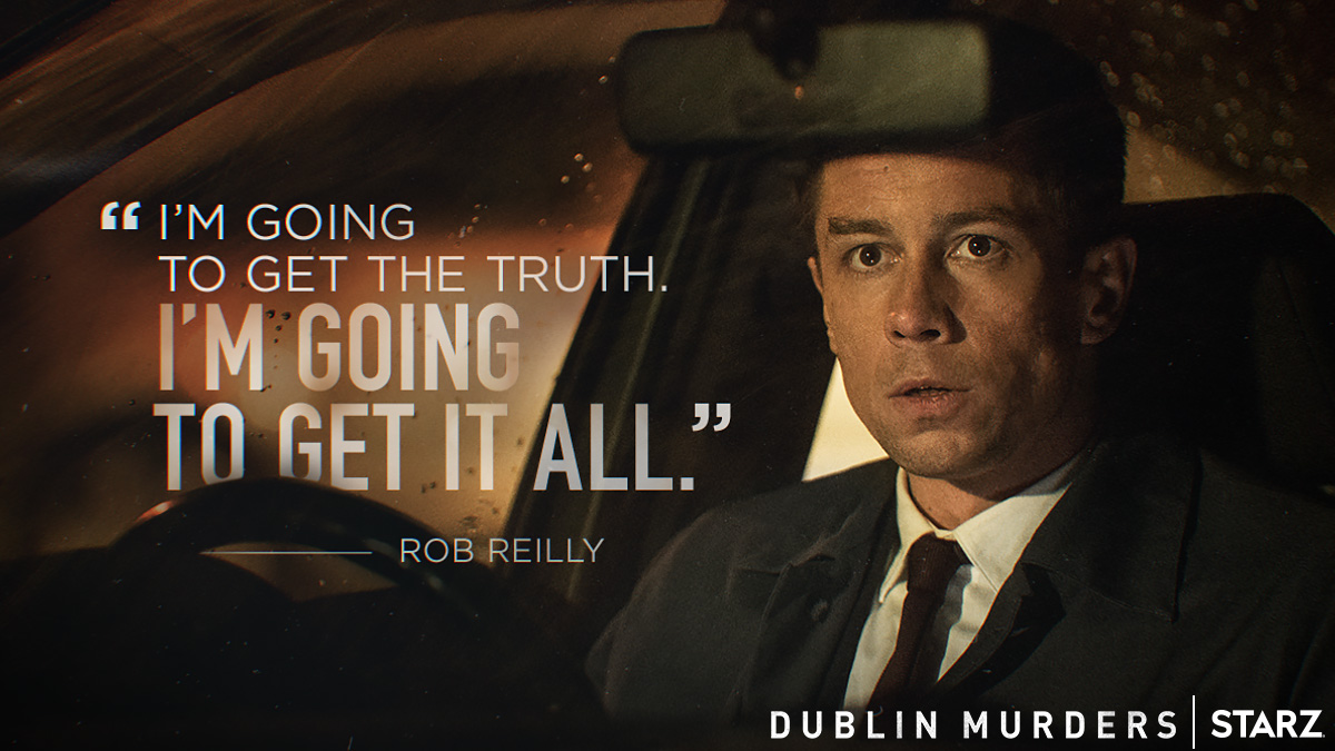 Replying to @DublinSTARZ: Is it possible to go too far in search of the truth? #DublinMurders