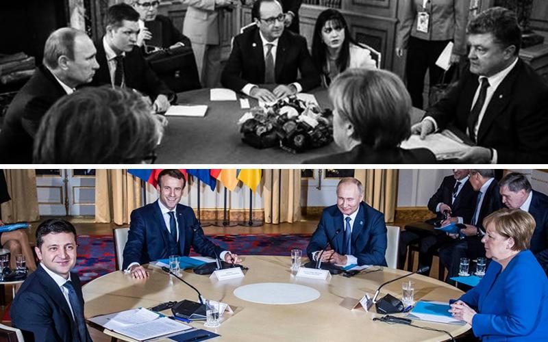 Зеленський і Путін залишилися спілкуватися віч-на-віч - після цього чотиристоронній формат переговорів продовжиться, - Офіс президента - Цензор.НЕТ 7110